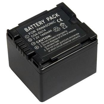 Baterie Extreme Energy typ Panasonic/HITACHI VW-VBD140/CGA-DU14, Li-Ion 1400 mAh, šedá