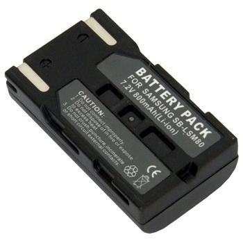 Baterie Extreme Energy typ Samsung SB-LSM80, Li-Ion 800 mAh, šedá