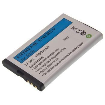 Baterie pro Nokia 5800 XpressMusic, Li-Ion 1050mAh