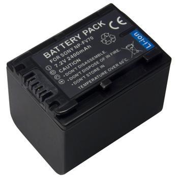 Baterie Extreme Energy typ Sony NP-FV70, Li-Ion 2100 mAh