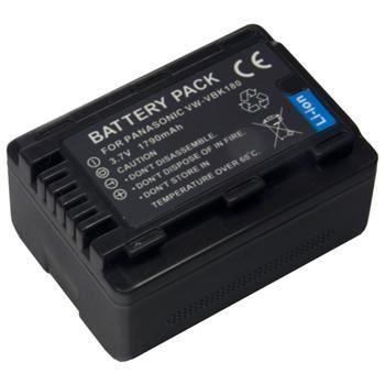 Baterie Extreme Energy typ Panasonic VW-VBN180,  Li-Ion 1790 mAh