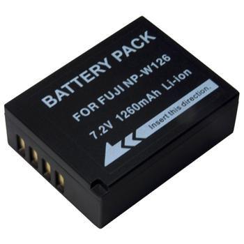 Baterie Extreme Energy typ Fuji NP-W126, Li-Ion 1260 mAh