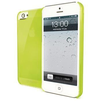 TPU pouzdro CELLY Gelskin pro Apple iPhone 5/5S, zelené