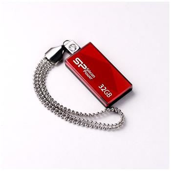 USB flash disk Silicon Power Drive Touch 810, 32GB, USB 2.0, červený