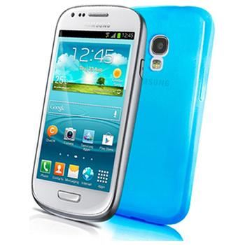 TPU pouzdro CELLY Gelskin pro Samsung Galaxy S III mini, světle modré