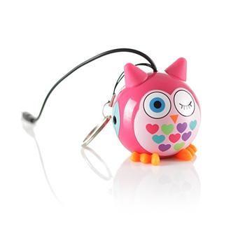 Reproduktor KITSOUND Mini Buddy Owl, 3,5 mm jack