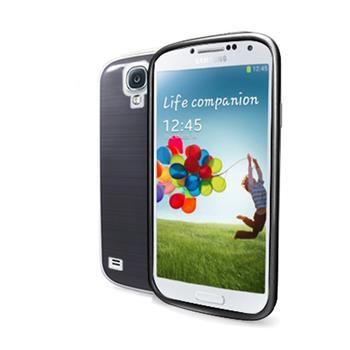 TPU pouzdro CELLY Gelskin pro Samsung Galaxy S4, kouřové