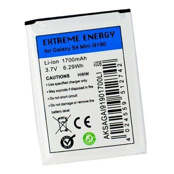 Baterie Extreme Energy pro Samsung Galaxy S4 Mini, Li-Ion 1700 mAh