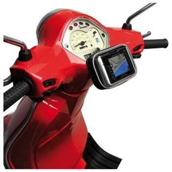 Voděodolný držák CELLY FLEXBIKE pro telefony a navigace k upevnění na řídítka