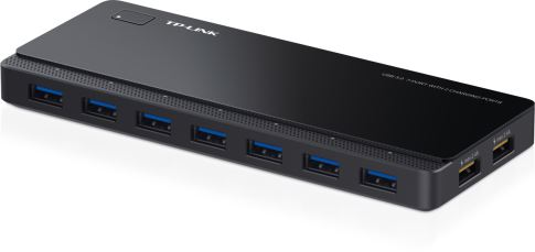 TP-Link 7 ports USB 3.0 Hub,2 power charge ports