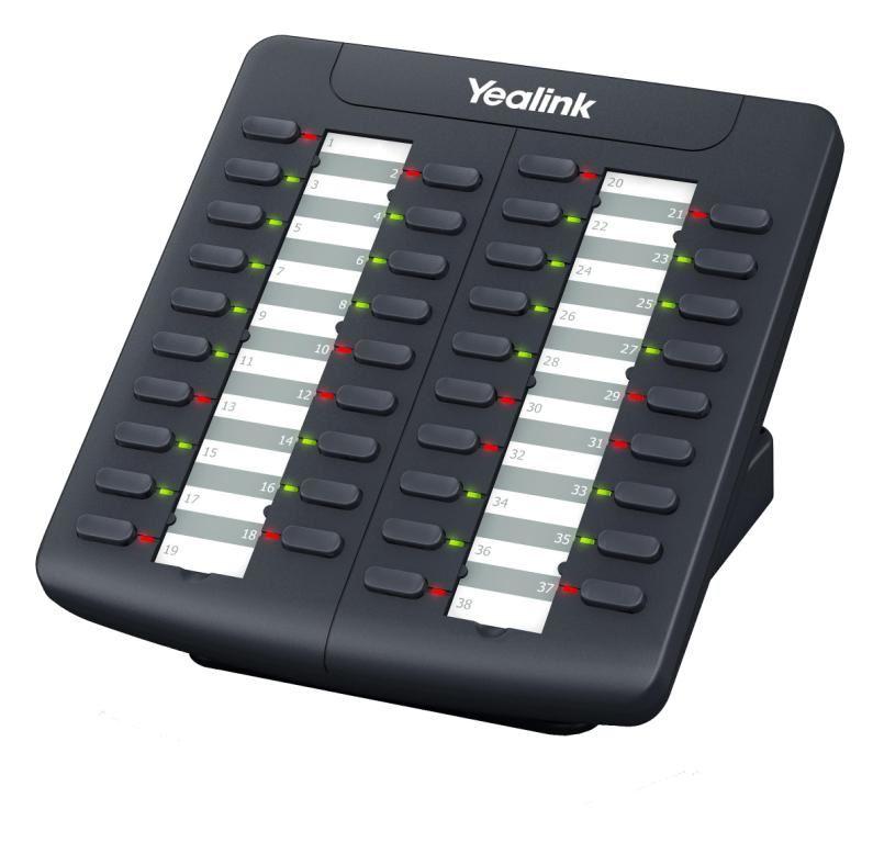 Yealink EXP38 exp. modul, 38 tl., k tel. T26/T28/T38