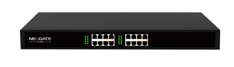 Yeastar NeoGate TA1600 IP FXS brána,16xFXS,1xRJ21,1xLAN,rack