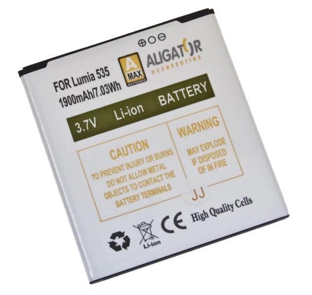 Aligator baterie pro Lumia 535 Li-ION 1900 mAh