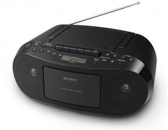 Sony radiomagnetofon s CD přehr. CFD-S50, černý