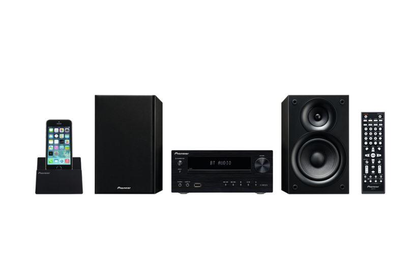 Pioneer mikro systém s DVD, USB, černý