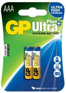 Alkalická baterie GP Ultra Plus 2x AAA