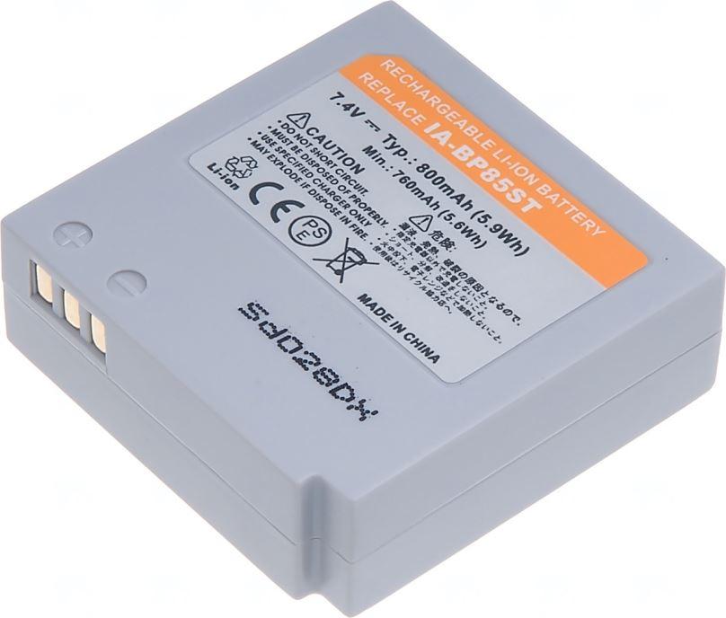 Baterie T6 power Samsung IA-BP85ST, 800mAh, šedá