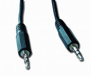 Kabel přípojný jack 3,5mm M/M, 10m, audio