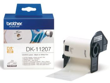 DK-11207 (papírové / CD,DVD štítek - 100 ks)