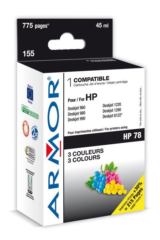 Armor ink-jet pro HP DJ 970, 3barvy 48ml (C6578A)