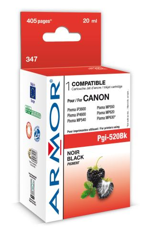 Armor ink-jet pro Canon iP4600, (PGI520-Bk), čip