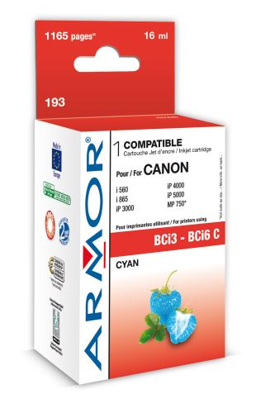 Armor ink-jet pro Canon BJC 6000, (BCI-3C/6C)