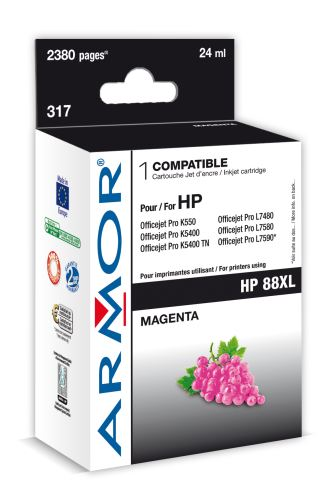 Armor ink-jet pro HP Officejet K550 20ml (C9392A)M