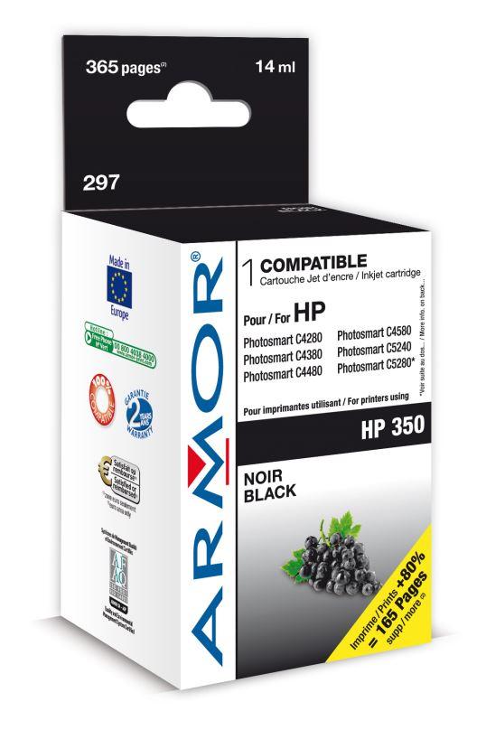 Armor ink-jet pro HP DJ D4260 10ml (CB335E) Bk