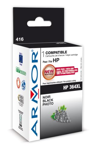 Armor ink-jet pro HP Photosmart B8550,12ml,PhotoBk