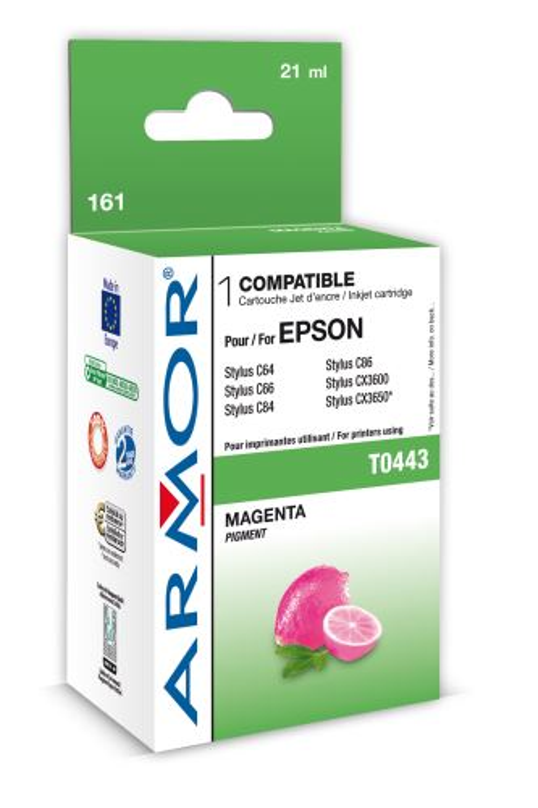 Armor ink-jet pro Epson C64/84 (T044340), 20ml, M