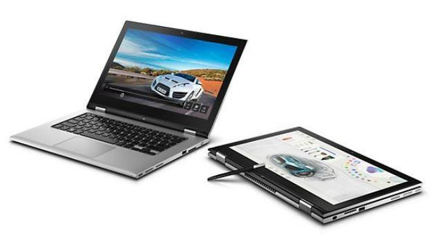 """Dell Inspiron 13z 2in1 (7347) 13,3"""" Touch i3-4030U/4GB/500GB/HDMI/WIFI/BT/W8.1 upgrade W10 stříbrný"""
