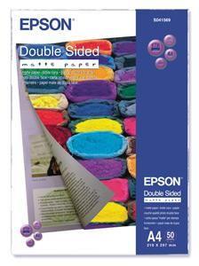 EPSON double sided Matte Paper A4, 178g/m2, 50 listů