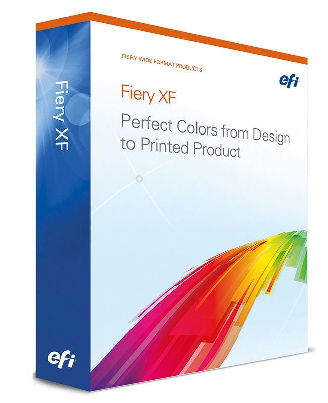 EFI Fiery XF 6.0 Mac/Win Upgrade z EFI Colorproof/Fiery XF 4.0 - 5.0 včetně 1 ročního SM&SA
