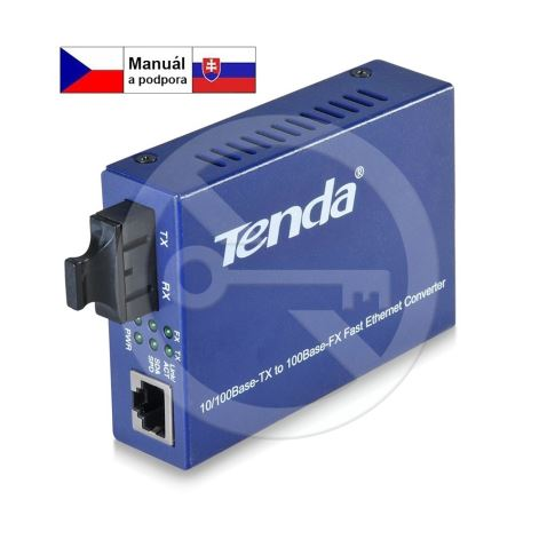 Tenda TER860S Single-mode Fiber Converter 10/100Ba