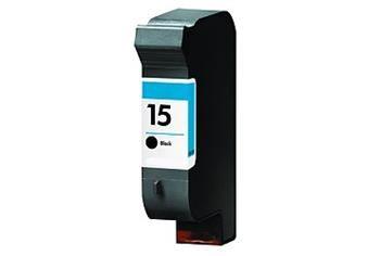 PRINTWELL C6615 (No.15) kompatibilní inkoustová kazeta, barva náplně černá, 920 stran