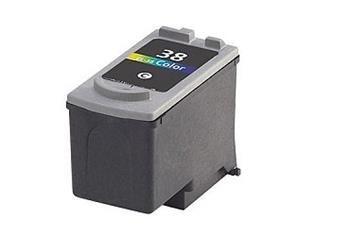 PRINTWELL CL-38 kompatibilní inkoustová kazeta, barva náplně azurová/purpurová/žlutá, 220 stran