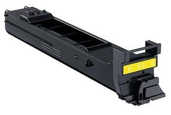 PRINTWELL A0DK252 kompatibilní tonerová kazeta, barva náplně žlutá, 8000 stran