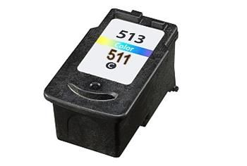 PRINTWELL CL-513 kompatibilní inkoustová kazeta, barva náplně azurová/purpurová/žlutá, 360 stran