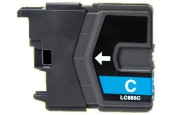 PRINTWELL LC985C kompatibilní inkoustová kazeta, barva náplně azurová, 260 stran