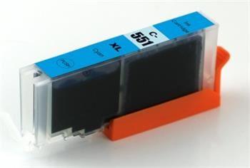 PRINTWELL CLI-551C XL kompatibilní inkoustová kazeta