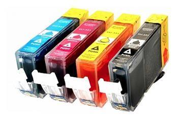 PRINTWELL CLI-521 + PGi-520 kompatibilní inkoustová kazeta