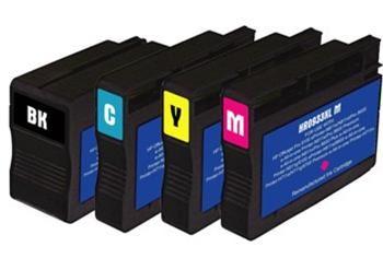 PRINTWELL CN054 (No.933 XL) inkoustová kazeta PATENT OK, barva náplně azurová, 1000 stran