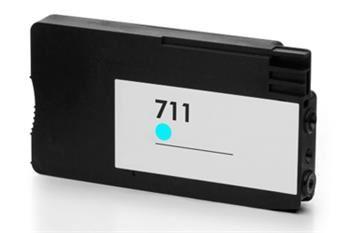 PRINTWELL CZ130A (No:711) CYAN inkoustová kazeta PATENT OK