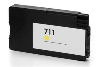 PRINTWELL CZ132A (No:711) YELLOW inkoustová kazeta PATENT OK