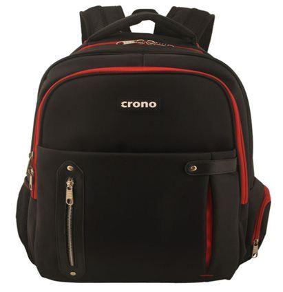"Batoh na notebook Crono Dakota 15.6"", černý + červený"