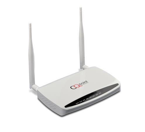 Router CQpoint CQ-C635 - router Wi-Fi 802.11N s odnímatelnou anténou, gigabit