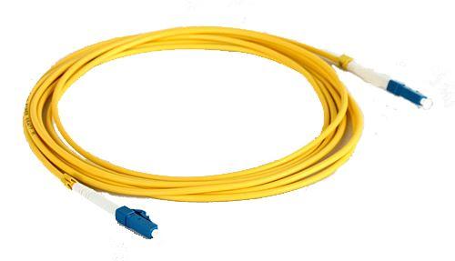 Optický patchkabel LC-LC SM 2m, LSZH, simplexní