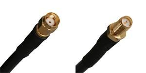 Pigtail 8m 5GHz RF240 RSMA male - RSMA female