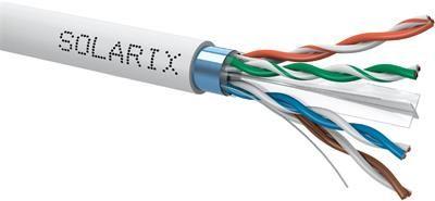 Solarix instalační kabel  CAT6 FTP PVC 500m/cívka SXKD-6-FTP-PVC