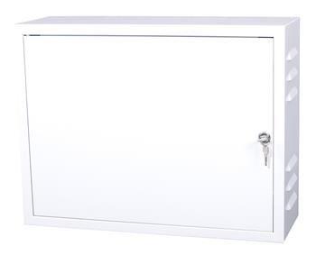 Rozvodná skříň 520x400x180, plechové dveře, s ventilačními otvory,uzamykatelná